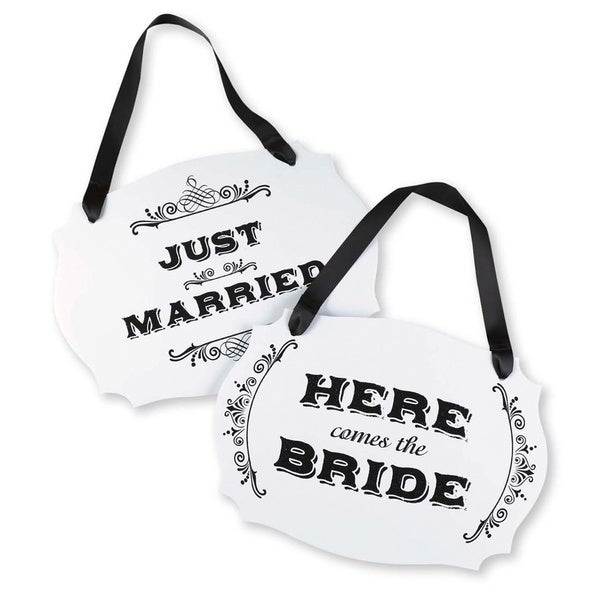 Here Comes the Bride 2-sided Sign