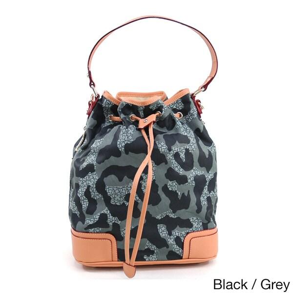 Anais Gvani Women's Camouflage Drawstring Tote Bag