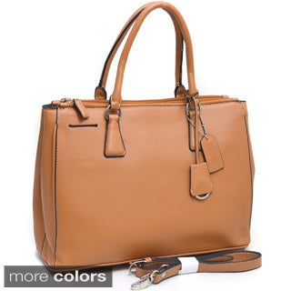 Dasein Tall Dual-compartment Satchel