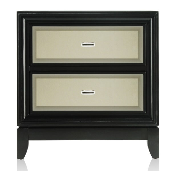 Furniture of America Gold-tinted Nightstand