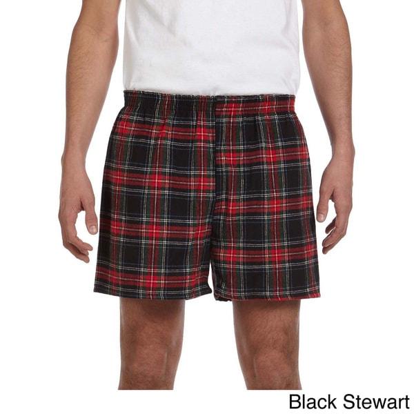 Men's Cotton Flannel Shorts