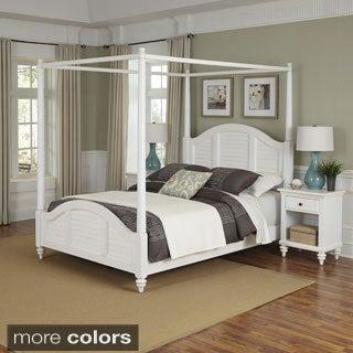 Bermuda Canopy Bed and Two Night Stands