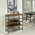 Modern Craftsman Wine Storage Rack