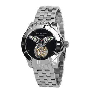 Android Men's Bald Eagle Mechanical Tourbillon LE Stainless Steel Watch