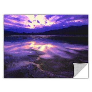 Dean Uhlinger 'Death Valley Winter' Removable Wall Art Graphic