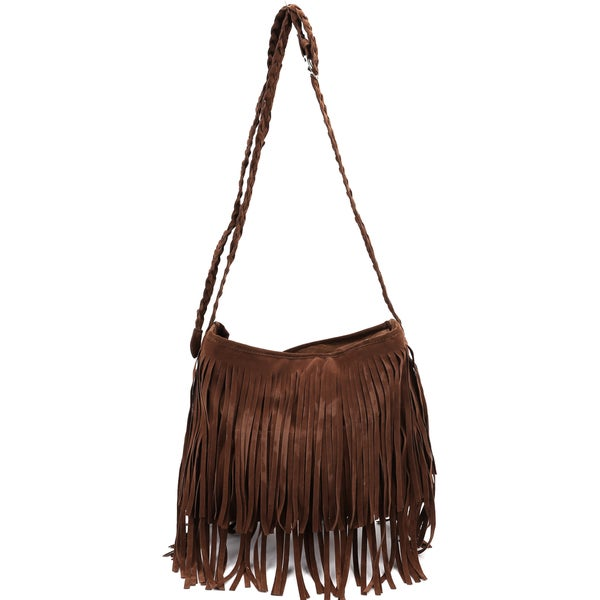 Oasis Tassel Fringe Shoulder Bag 8