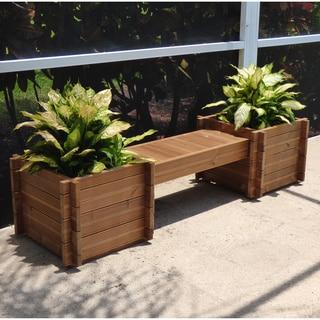Thermod Modula Planter Box Bench