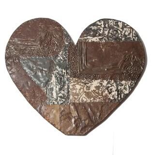 Ozark Folk Art Reclaimed Tin Heart