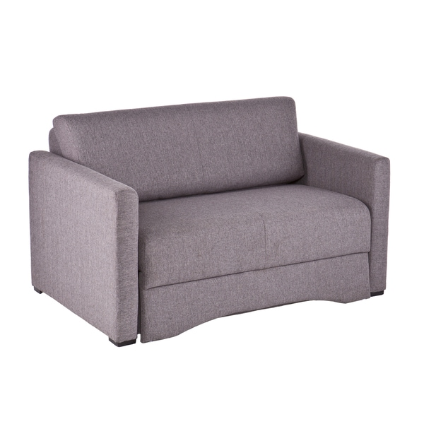 Upton Home Ventura Gray Loveseat Sleeper