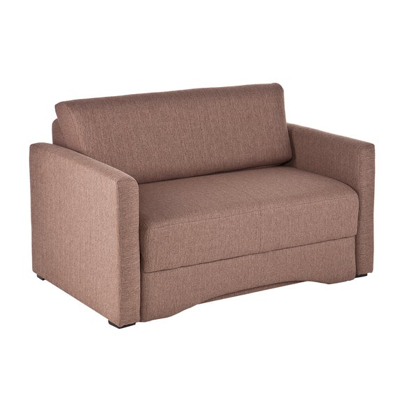 Upton Home Ventura Nutmeg Loveseat Sleeper