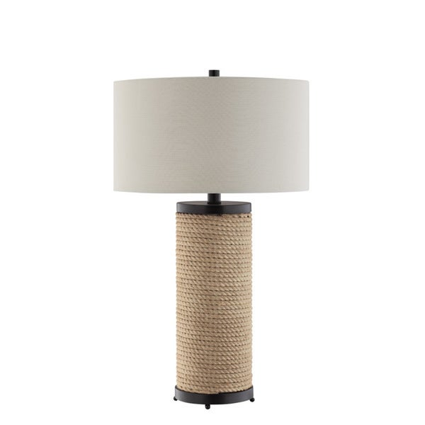 Blyton Rope Accented Metal Table Lamp