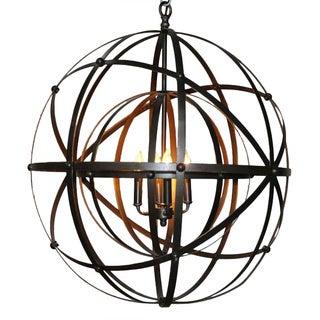 Exquisite Globe Inspired Chandelier