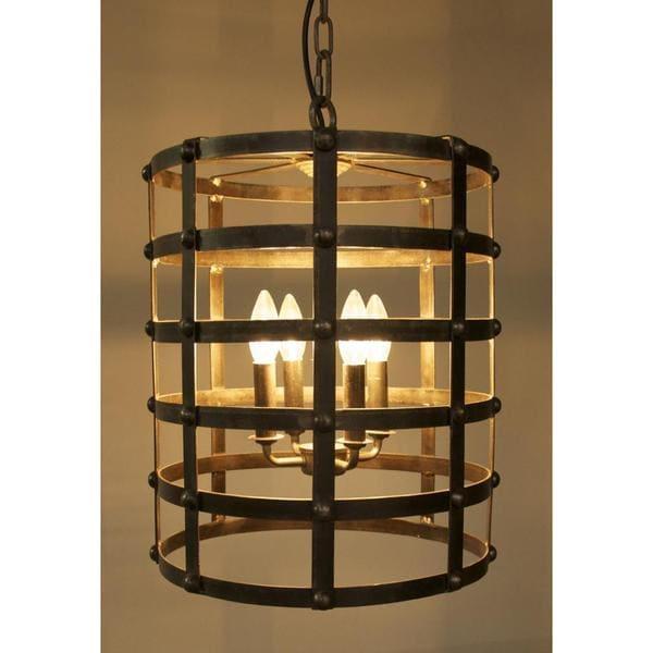 Foyer Lighting Overstock : Modern drum light pendant  overstock