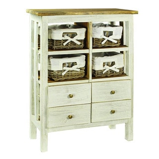 European Styled Rustic Laundry Cabinet