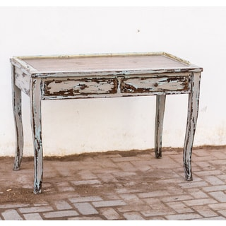 Honovi Distressed Holland Grey Writing Desk