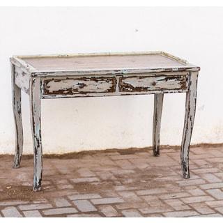 Honovi Distressed Holland Grey Writing Desk