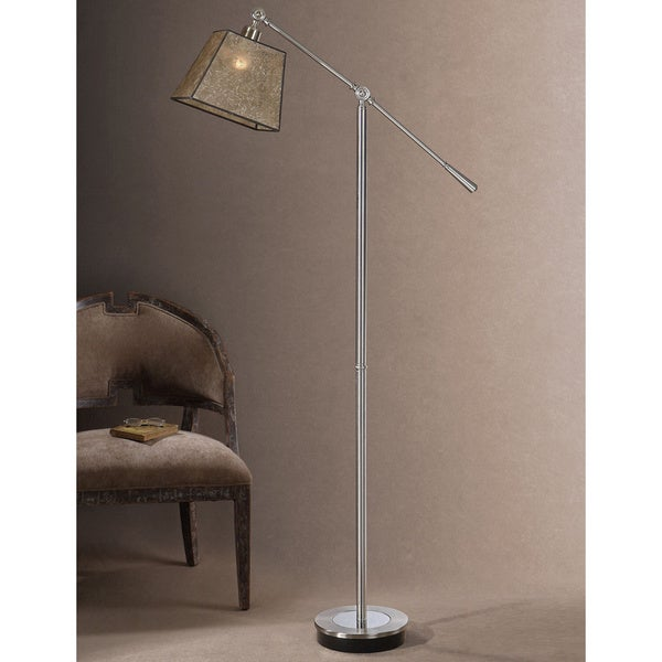 Uttermost Biella Chrome-plated Floor Lamp