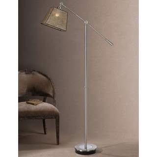 Biella Chrome-plated Floor Lamp