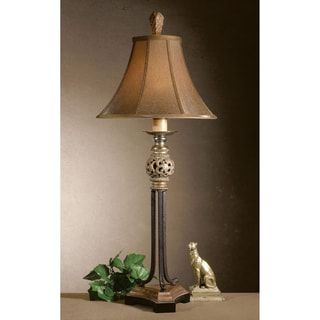 Jenelle Rope Matte Black 1-Light Floor Lamp
