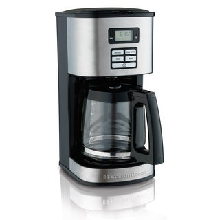 Hamilton Beach 49618 12-cup Programmable Coffee Maker