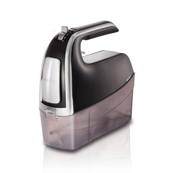 6-Speed Black Pulse Hand Mixer