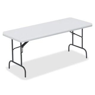 Lorell LLR66651 72-inch Ultra Light Banquet Table