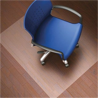 Lorell LLR82825 Nonstudded Design Hardwood Surface Chairmat