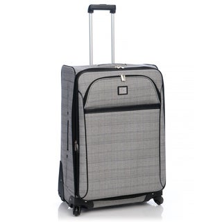 Anne Klein Calgary 28-inch Large Expandable Upright Spinner Suitcase