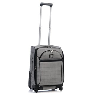 Anne Klein Calgary 20-inch Expandable Carry On Upright Spinner Suitcase