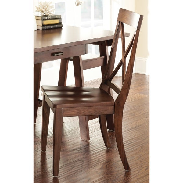 Frederic Dark Oak Side Chair