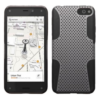 BasAcc Shockproof PC Silicone Mesh Hybrid Case Cover for Amazon Fire Phone