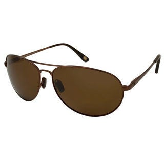 Tommy Bahama Men's TB6001 Polarized/ Aviator Sunglasses