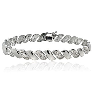1/2ct TDW Diamond San Marco Fashion Bracelet
