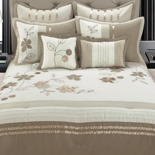 EverRouge Dahlia 8pc Comforter Set