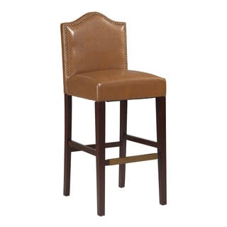 Linon Manor Bar Stool Russet
