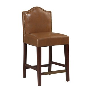 Linon Manor Counter Stool Russet