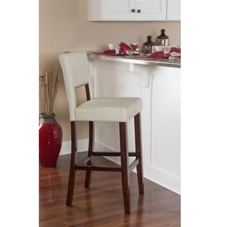 Linon Milano Bar Stool Cream
