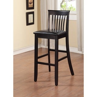 Torino Collection Black Craftsman Bar Stool
