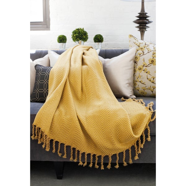 Sophia Herringbone Throw