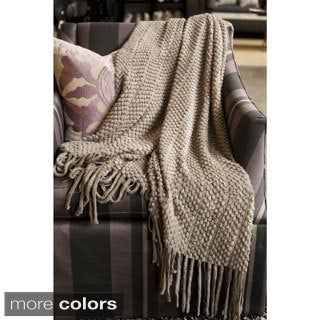 Nicole Lightweight Textured Throw