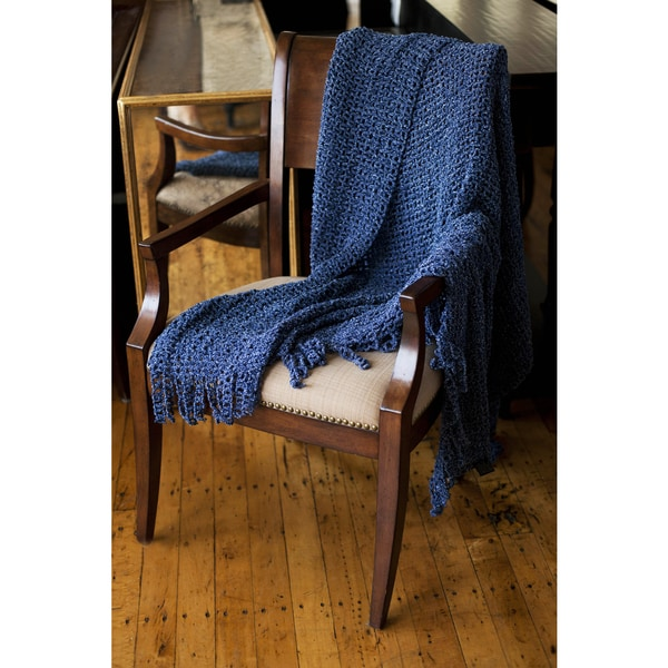 Jasmine Melange/Chenille Knit Throw