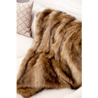 Ibex 60x70-inch Faux Fux Throw