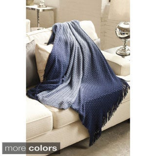 Diane Hand-Dyed Ombre Acrylic Throw