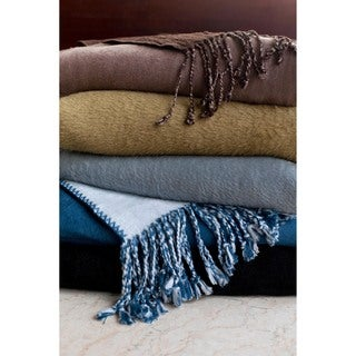 Bonnie Luxurious Bamboo Blend Reversible Throw