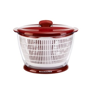 Kitchen Aid Salad Spinner Red