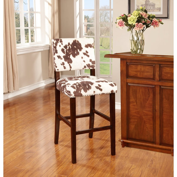 Linon Corey Udder Madness Bar Stool Overstock Shopping