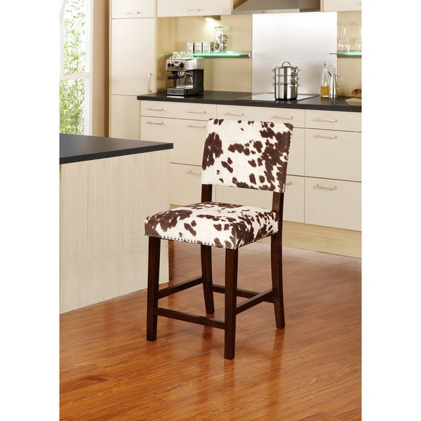 Linon Corey Counter Stool Udder Madness Overstock