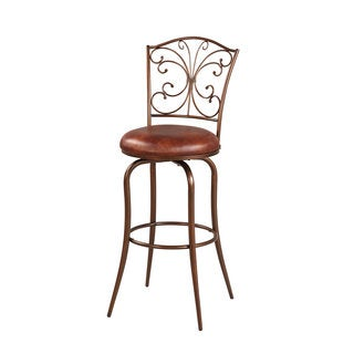 Linon Butterfly Back Bar Stool