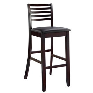 Linon Triena Collection Ladder Counter Stool