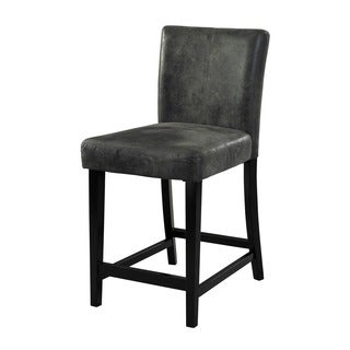 Morocco Charcoal Counter Stool
